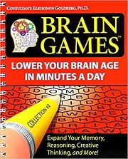 Brain Games #3: Lower Your Brain Age in Minutes a Day by Editors of Publications International Ltd.