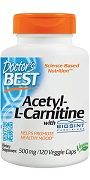 Doctor's Best Acetyl-L-Carnitine with Biosint Carnitines