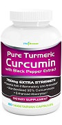 VitaBreeze Pure Turmeric Curcumin with Black Pepper Extract