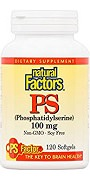 Natural Factors PhosphatidylSerine